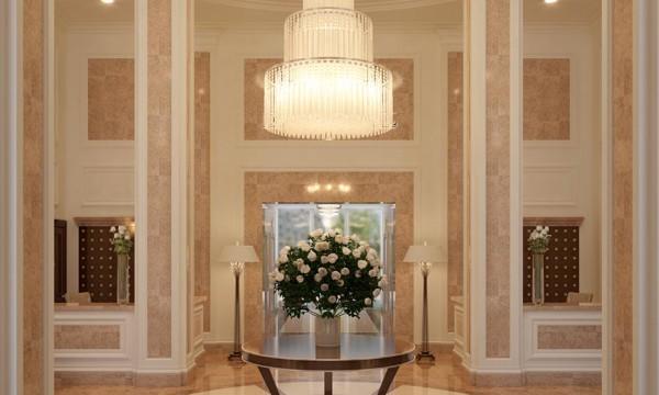 Холл элитного многоквартирного дома в Киеве