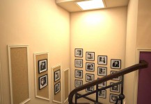 Холл — лестница